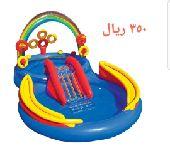 مسبح زحليقة للطفال