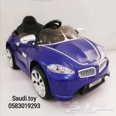 سيارة اطفال شكل بي ام دبليو 449ريال فقط