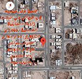 للبيع ارض تجارية شمال الرياض حي الأمانة زاوية