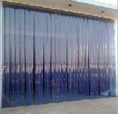 ستائر بلاستيك شفافة للمصانع والمستودعات