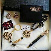 هدايا مطليات بماء الذهب والفضه  بالأسماء