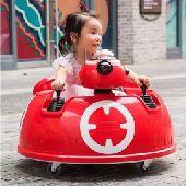 سيارة أطفال كهربائية علة شكل مركبة فضائية