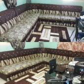 غرفة نوم ومجلس ومطبخ بحالة ممتازة