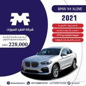 عرض جديد من المارد BMW X4 اكس لاين 2021 أصفار