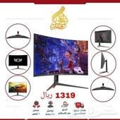 شاشة منحنية افضل شاشات في السعودية