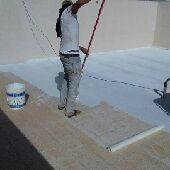عزل خزانات واسطح مسابح  كشف تسربات المياه