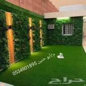 تنسيق حدائق وتصميم الشلالات
