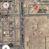 أرض للبيع 390م بحي النرجس الكيلو 7