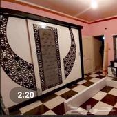 غرف نوم وابواب خشبيه وديكورات والومنيوم واثاث