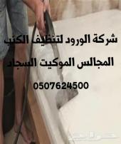 تنظيف منازل كنب سجاد موكيت خزانات رش مبيدات