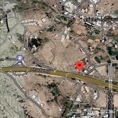 ارض للبيع الطائف طريق الهدا تجاري 2400م