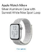 ساعة ابل سيريس 4 اصدار نايكي Nike