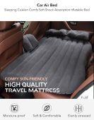 السرير الهوائي المريح لجميع انواع السيارات