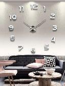ساعة حائط 3D حجم كبير وانيق