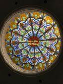 قبب زجاج المعشق نوافذوشترالالمنيوم دربزينات