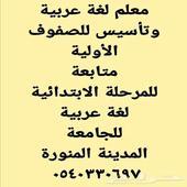 معلم مدرس أستاذ خصوصي تأسيس مصري