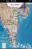 للبيع ارض بمخطط 605 على ثلاث شوارع