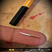 اصغر سكين من اعمال الفنان محمد حبيب