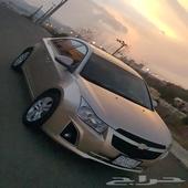 للبيع سيارة كروز موديل 2013 نظيفه ماشاء الله