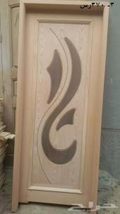 ابواب خشب جديدة للبيع
