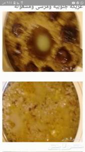 اكلات شعبيه وعريكه  وخبز المله تجهيز فطور