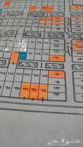 للبيع ارضين متجاورات تجاري في القيصومة