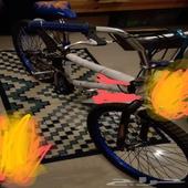 دراجة للبيع شبة جديدة