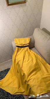 فستان اصفر فيمي ناين