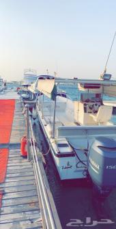 قوارب للإيجار النزهه والصيد في جده