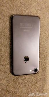 ايفون 7 ( جرم خلفي فقط ) اللون اسود مطفي