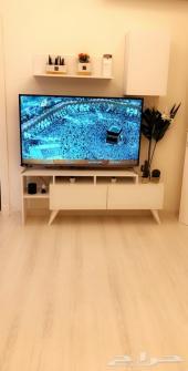 طاولة تلفزيون جديدة الاستخدام