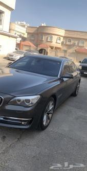 BMW بي ام دبليو الفئة 7 نظيييف وكااالة