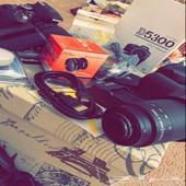 كاميرا نيكون D5300 بملحقاتها