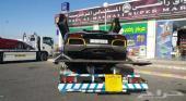 أبوخالد للنقل السيارات على سطحات هيدروليك خاصة من الامارات الى السعودية وبالعكس