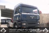 للبيع شاحنات مان الشاصي 066312موديل 2006