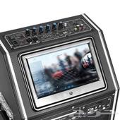 عرض مميز مكبر صوت ديجي سبيكر بشاشة HD للمناسبات والحفلات