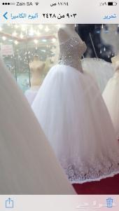 فرصه شراء فستان زفاف السندريلا جديد 2014