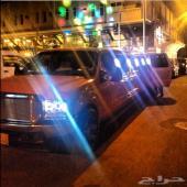 سيارات ليموزين للايجار VIP cars royal limo اعراس والمناسبات استقبال من المطار الموقع جدة مكة