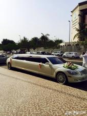 ليموزيناتVIP cars للإيجار لينكولن اسود مرسيدس بانوراما ابيض 550s كرايسلر 3 اكس كورجن فورد1 للأعراس