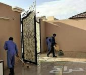 شركة تنظيف منازل فلل بيوت مجالس بالرياض