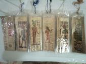 الابجديه الفرعونيه على ورق البردي