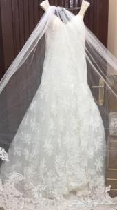 فستان زواج نظيف جدا