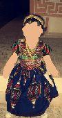 فستان اطفال شعبي لعيد الحج