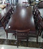 طاولة طعام 12 كرسي مع التركيب بسعر 3700 فقط