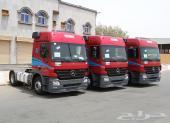 ثلاث شاحنات مرسيدس(اكتروس) موديل 2005 الحجم 1841