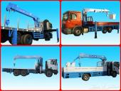 كرينات بلوكرين الكورية  blukrane الاقوي والاخف وزنا و قسم خاص لايجار المعدات الثقيلة