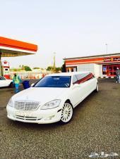 سيارات ليموزين طويلة للأفراح والمناسبات لنكولن  مرسيدس بأنوراما كرايسلر اكس كورجن VIP cars بنتلي رول