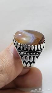 مزاد(210) على خاتم عقيق يمني مصور