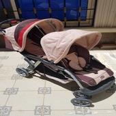 عربية اطفال مزدوجة لطفلين