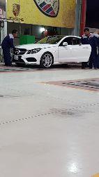 مرسيدس كوبيه E400 EMC 2014 نظيفه